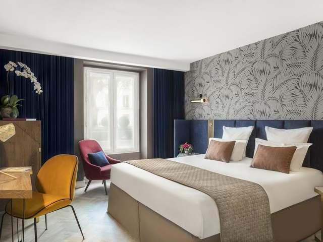 أجمل الغُرف متوفرة في فندق بيست ويسترن باريس