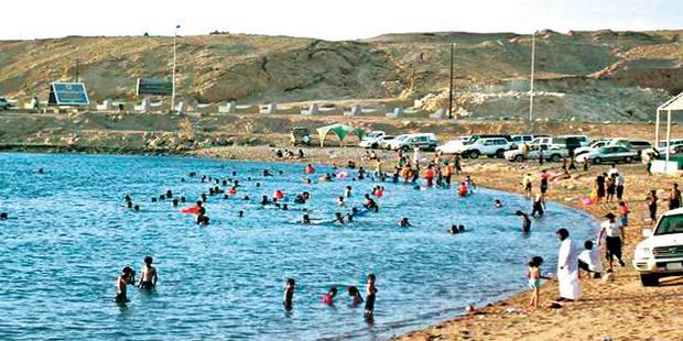 شاطئ ضباء السعودية