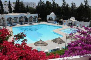 غرف فندق المنارة الحمامات تونس