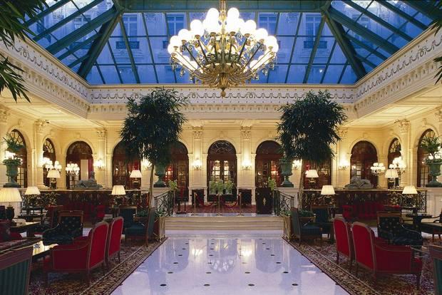 صالة اللوبي في فندق جراند انتركونتننتال باريس
