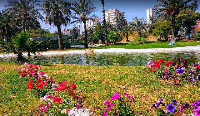 موقع حديقة وهران في الجزائر