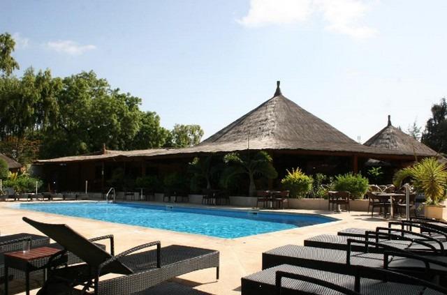 مسبح في فندق في السنغال سالي بورتودال