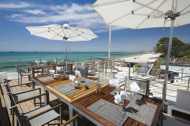 موقع فندق سندباد الحمامات تونس