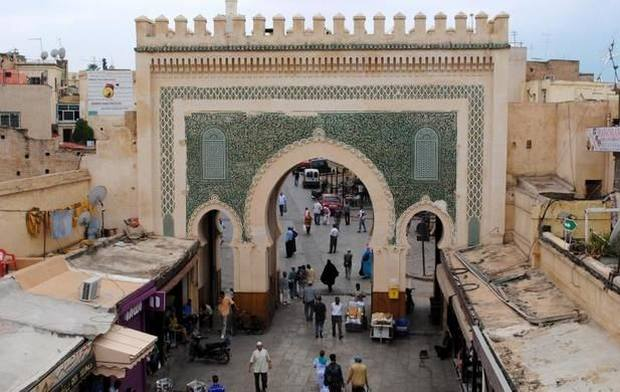 المدينة القديمة فاس بالمغرب