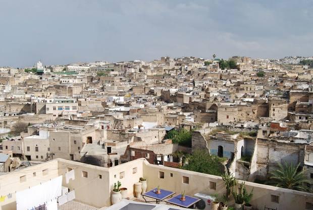 المدينة القديمة فاس