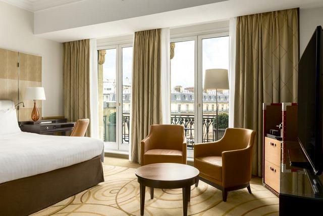 أجمل الإطلالات من أحد فروع سلسلة فندق ماريوت باريس
