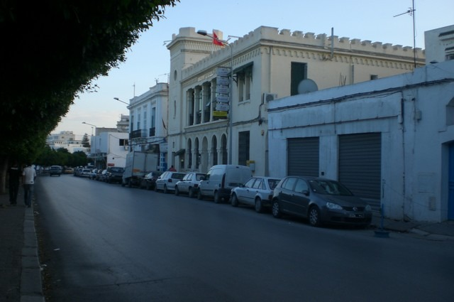 شوارع تونس العاصمة