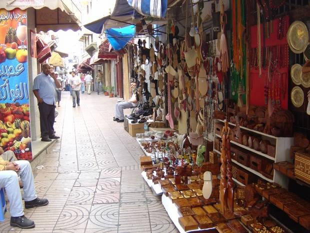 شوارع كازبلانكا المغرب