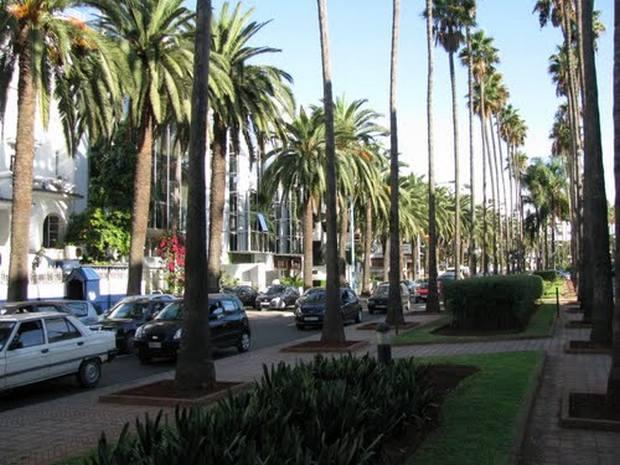 شوارع الدار البيضاء المغرب