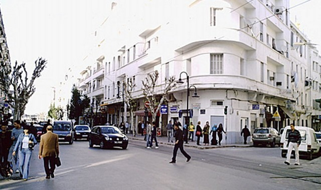شارع فرنسا تونس
