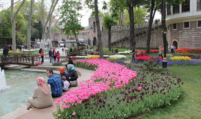 حديقة جولهانة في اسطنبول