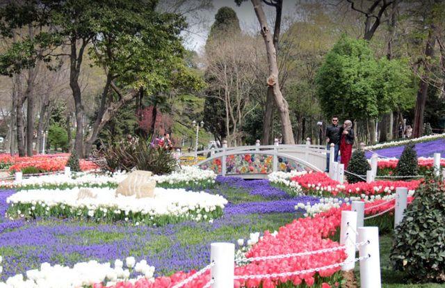 حديقة جولهانه السلطان احمد
