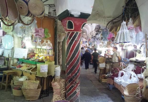 أسواق تونس الشعبية