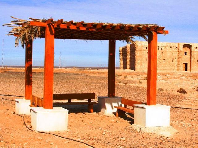 قصر الخرانة عمان الاردن