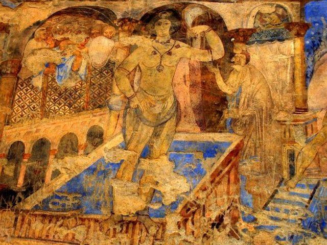 قصر عمرة الازرق