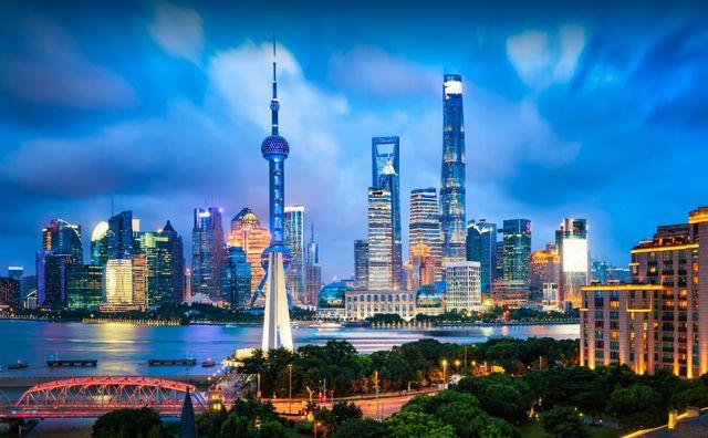 اين تقع شنغهاي