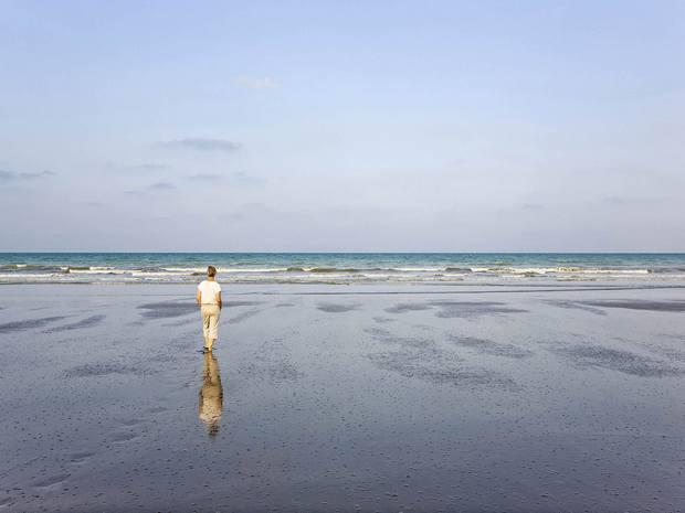 شاطئ صحار بعمان