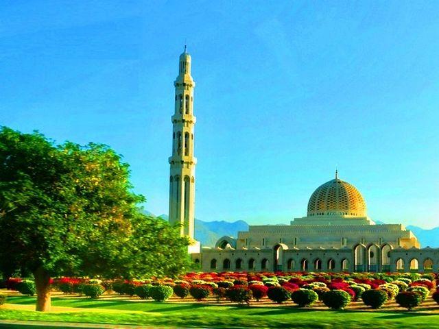 مسجد السلطان قابوس مسقط