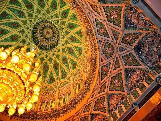 مسجد السلطان قابوس سلطنة عمان مسقط