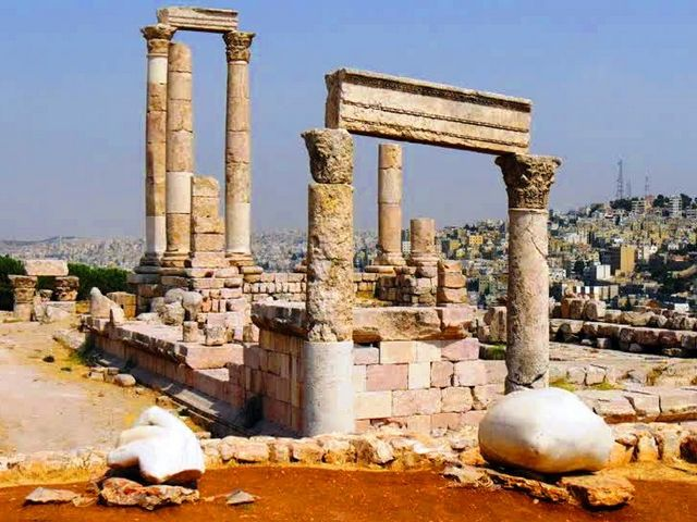 معبد هرقل عمان