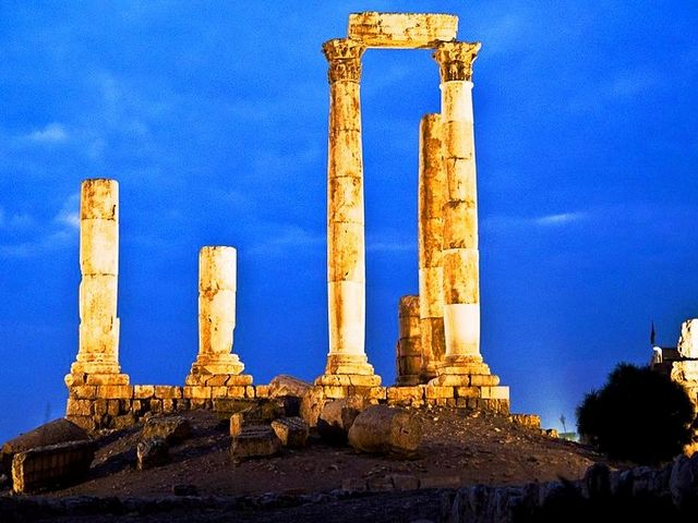 معبد هرقل بعمان