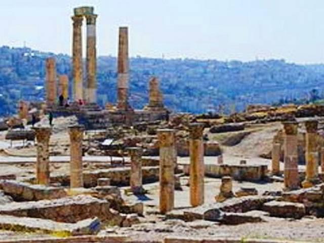 معبد هرقل في عمان الاردن