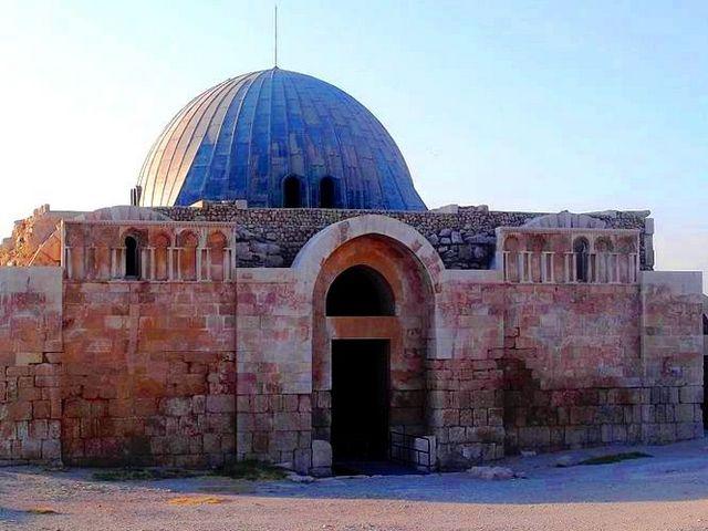 معبد هرقل بعمان في الاردن