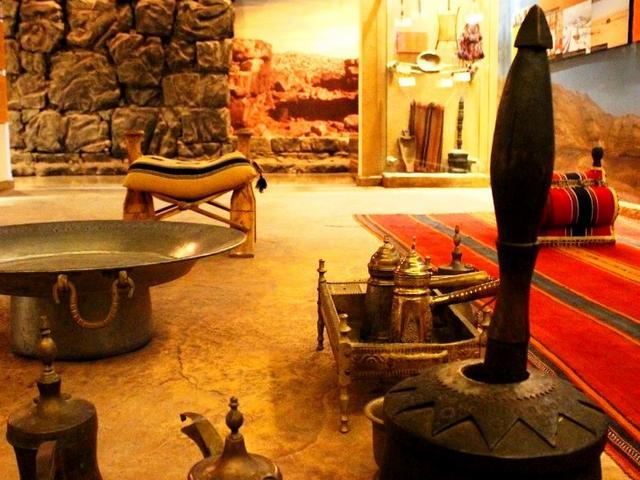متحف الاردن براس العين عمان