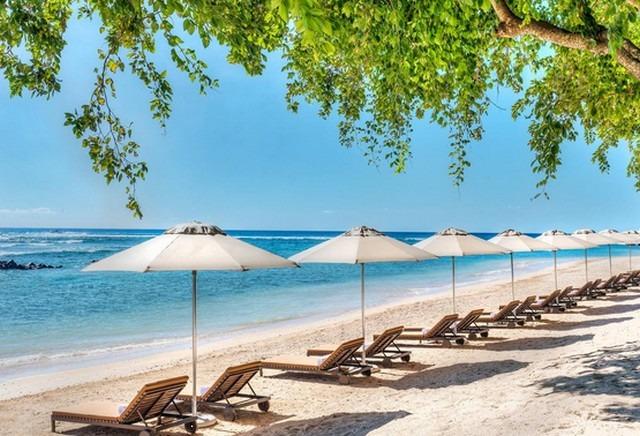 منطقة شاطئ خاصة في افضل منتجعات موريشيوس