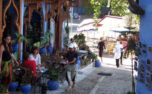 ساحة وطاء الحمام بشفشاون المغرب