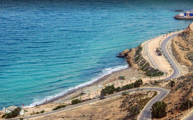 شواطئ الحسيمة في المغرب