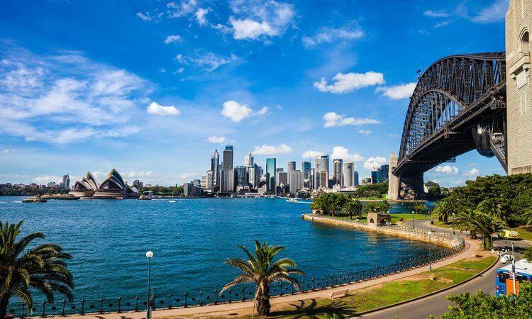 اين تقع استراليا