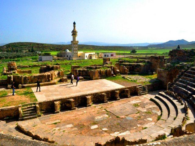 المواقع الاثرية بتونس
