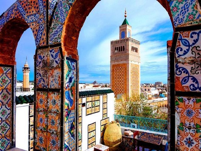 مواقع اثرية في تونس