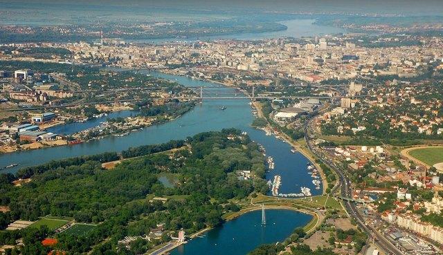 اين تقع بلغراد