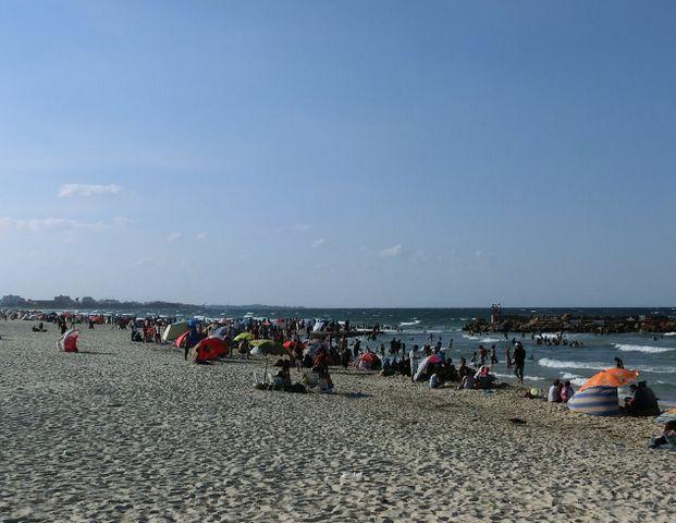 شاطئ بوجعفر في سوسة