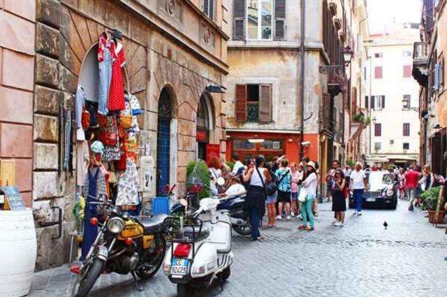 ارخص اماكن التسوق في روما ايطاليا