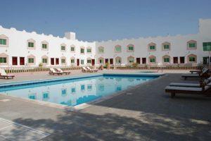 موقع فندق الواحة الخضراء صحار