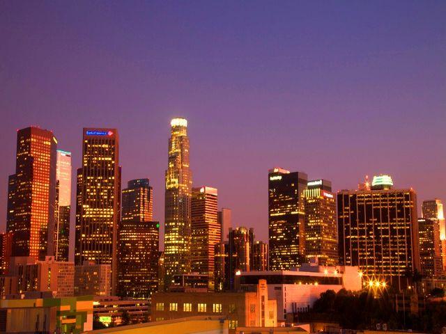 اين تقع لوس انجلوس