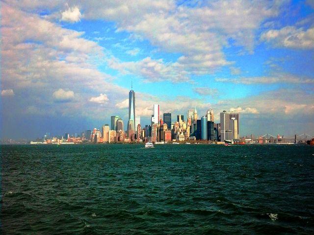 اين تقع نيويورك