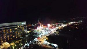 السوق الليلي في بينانج ماليزيا
