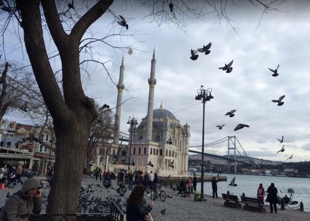 جامع اورتاكوي تركيا