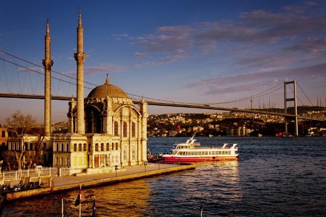 جامع اورتاكوي باسطنبول