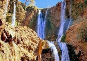 شلالات في المغرب