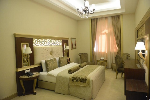 ديكورات رائعة في أحد فروع فندق قفقاز قبالا