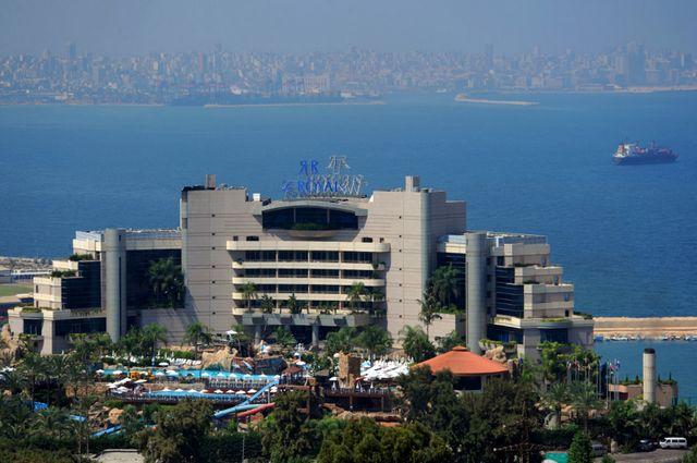موقع فندق رويال بيروت