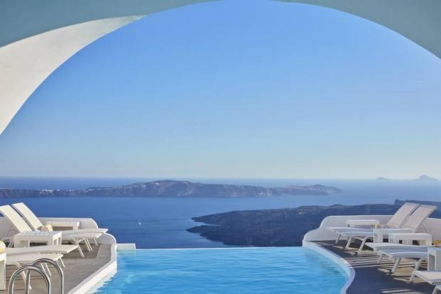 افضل فنادق في سانتوريني مع مسبح خاص