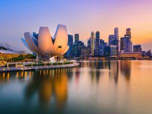 سنغافورة اين تقع
