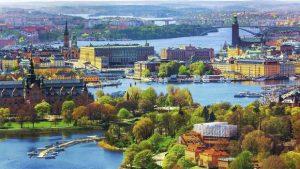 اين تقع دولة السويد