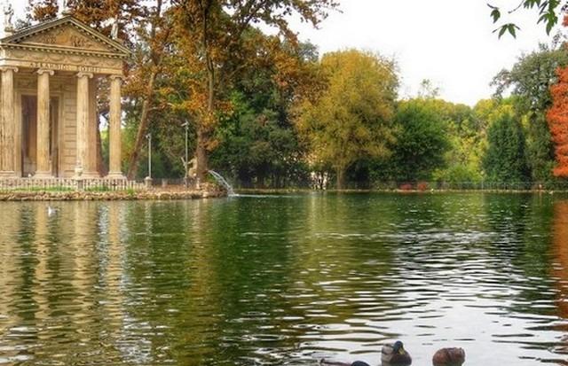 حدائق روما إيطاليا